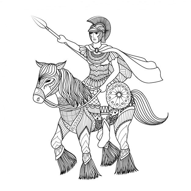 gladiator background vector free