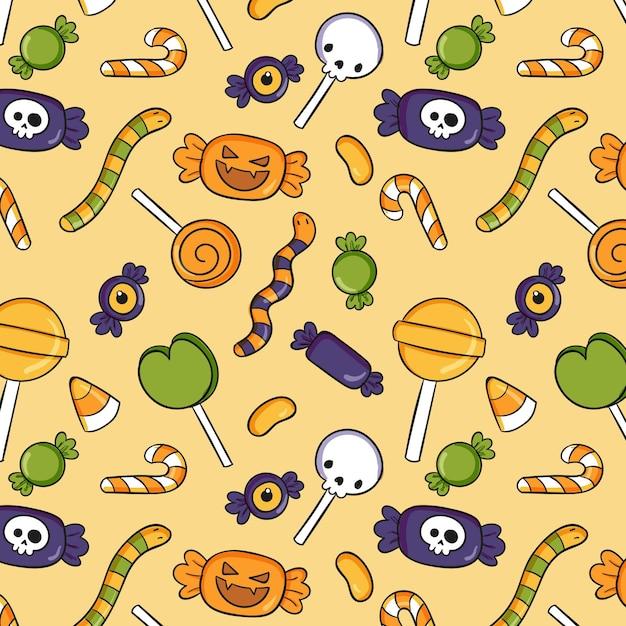 Ручной обращается хэллоуин картина Бесплатные векторы