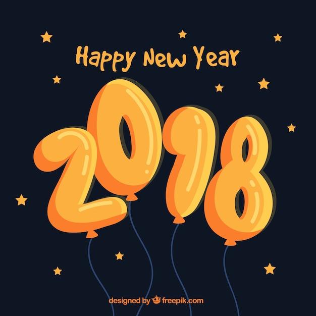 Happy New Year Orange 24