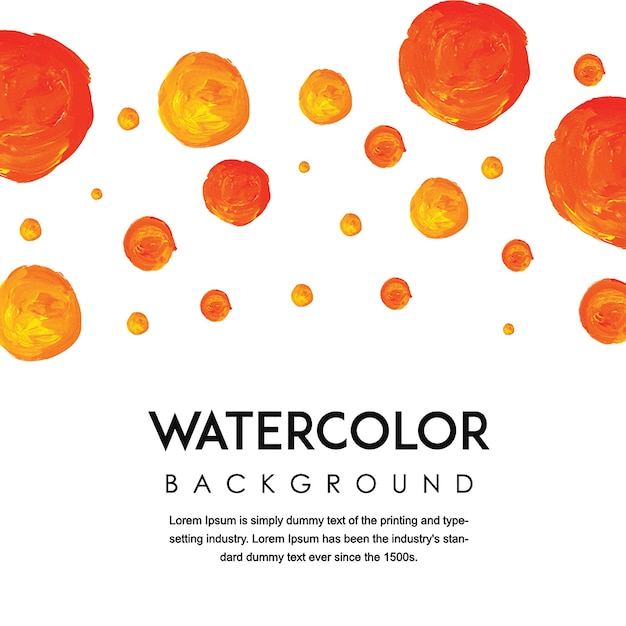 Hand Drawn Light Watercolor Background Free Vector