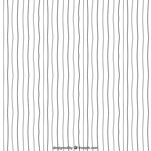 Drawing Vector Lines In Photo : Hand drawn lines pattern vector free download