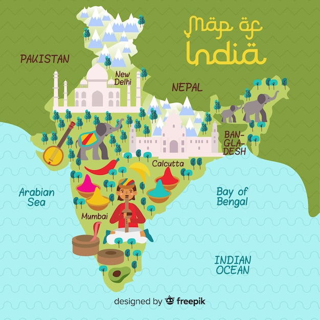 Hand drawn map of india Vector | Free Download on map east africa, game with india, map singapore, map saudi arabia, map of india landforms, map the us, map sri lanka, globe with india, map south korea, map of india map, map west asia, plain map of india, map south africa, map nigeria, map spain, printable map of india, map japan, map southeast asia, map russia, business with india,