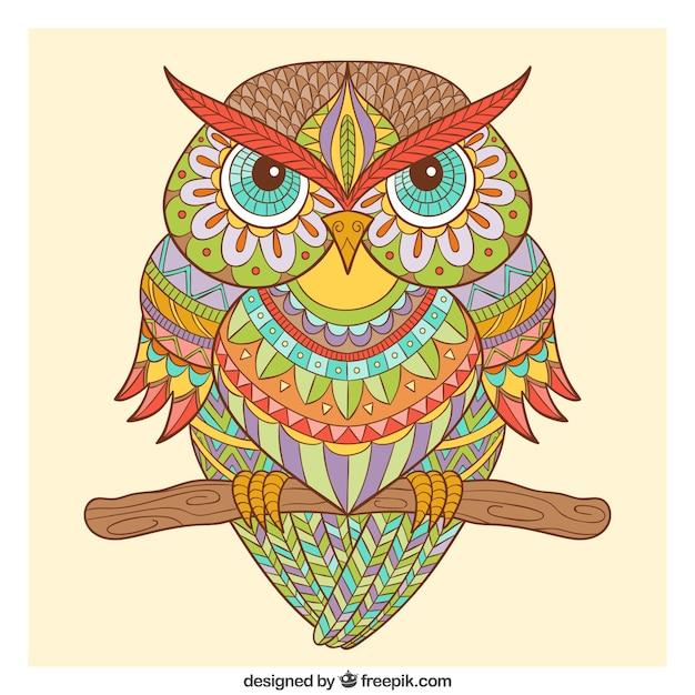 Рисунок картинка сова