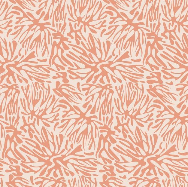 Hand drawn pastel pattern Premium Vector