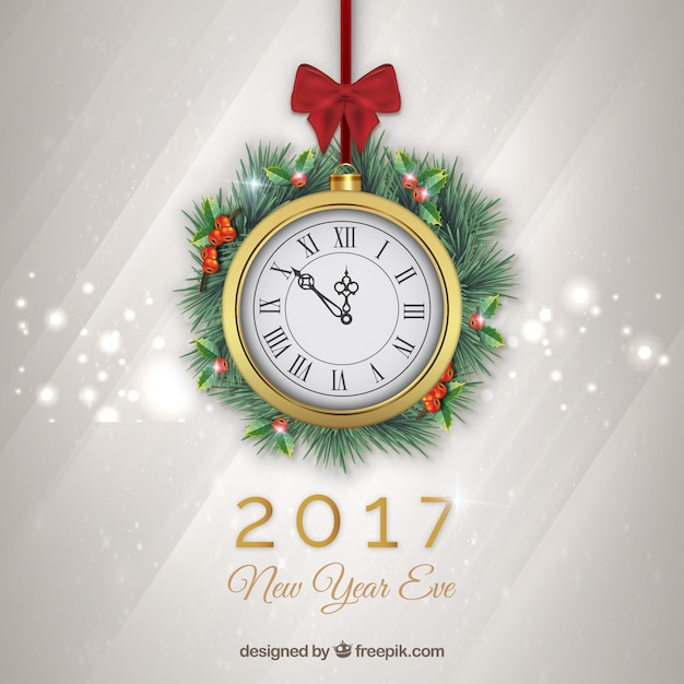 Hand drawn snowy christmas pattern Free Vector