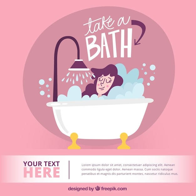 Bathtub Vectors, Photos And PSD Files