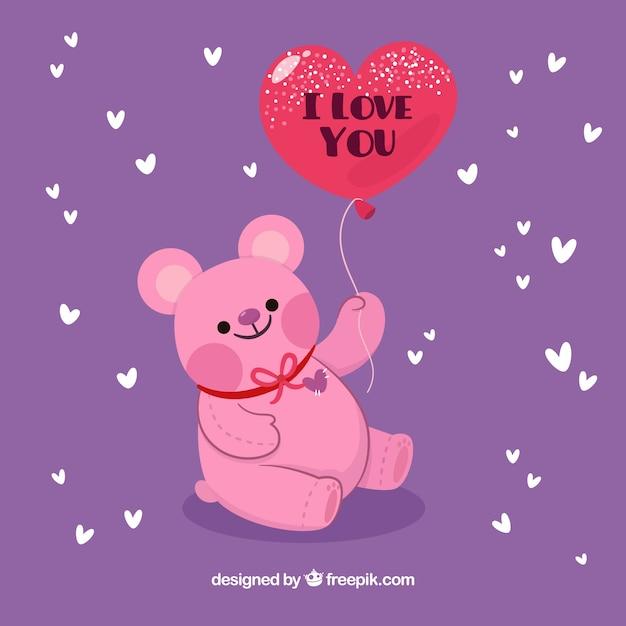 Hand drawn valentine\'s day background Vector | Free Download