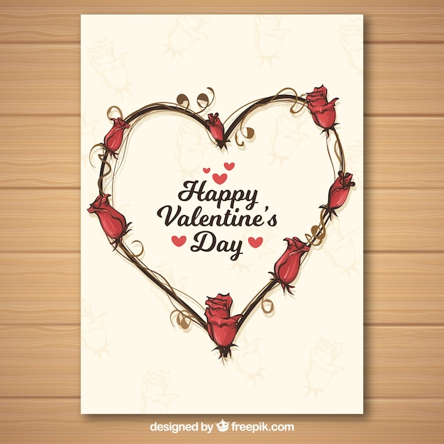 free downloadable valentines day card templates