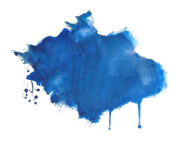手描き水彩スプラッタテクスチャ背景 無料ベクター