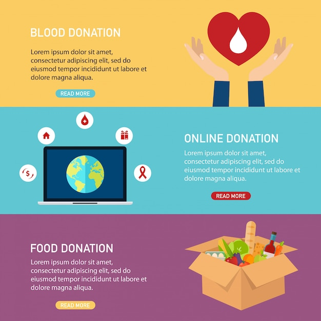 Hand holding mobile smart phone with donation money. concept for charity online service.  flat  illustration. Premium Vector