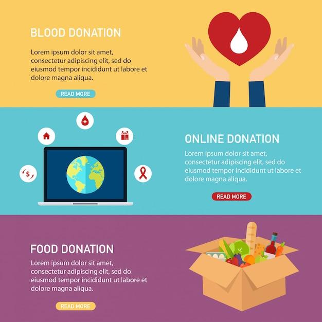 Рука мобильный смартфон с пожертвованием денег. концепция благотворительного онлайн сервиса. плоская иллюстрация. Premium векторы