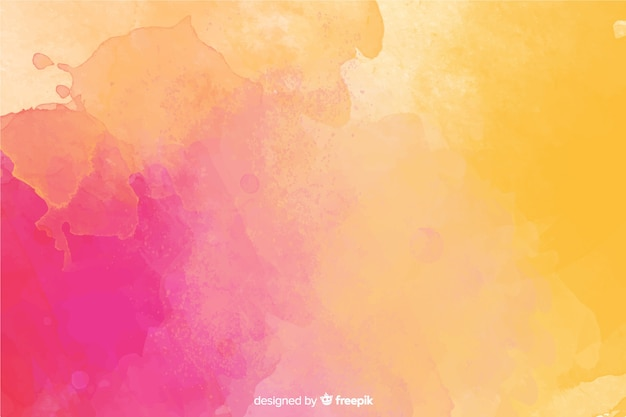 Hand painted background watercolor style Free Vector