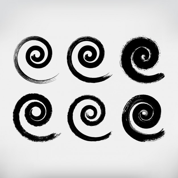 how to draw a spiral by hand