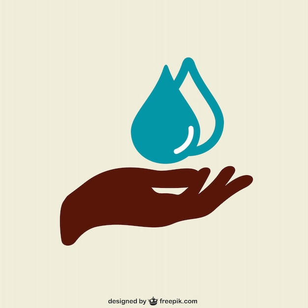 Hand washing Free Vector