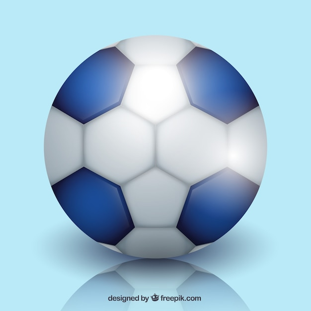 Handball ball in realistic style