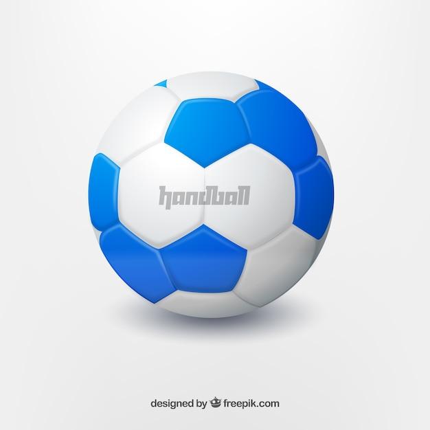 Handball design Free Vector
