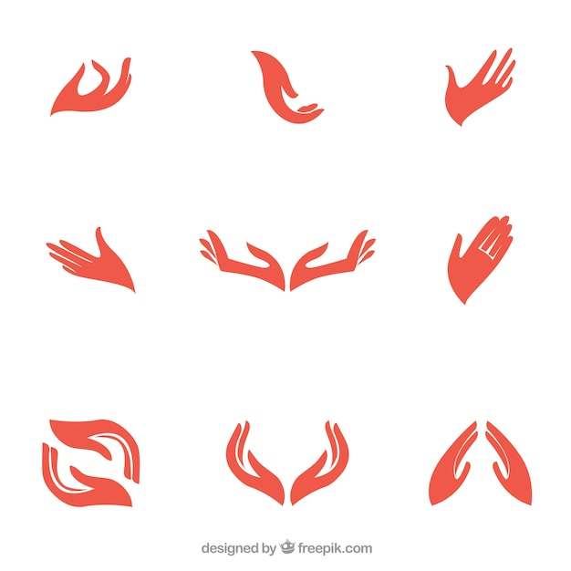 Hands logo Vector | Free Download