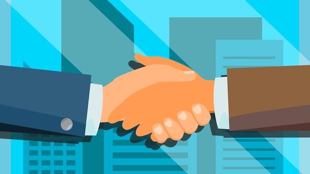 Handshake Premium Vector