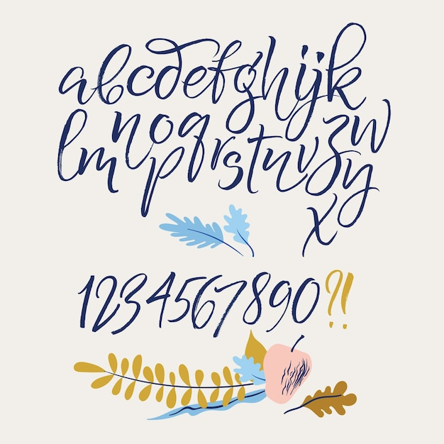 Cursive Letter Font Free