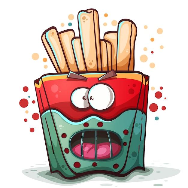 Hannibal cartoon characters horror and fear Vector Premium Download