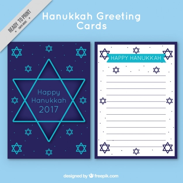 Hanukkah greeting card with blue stars stock images page everypixel m4hsunfo