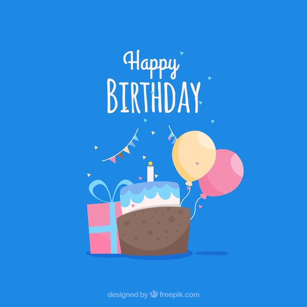 Happy birthday card template vector free download happy birthday card template free vector bookmarktalkfo Images