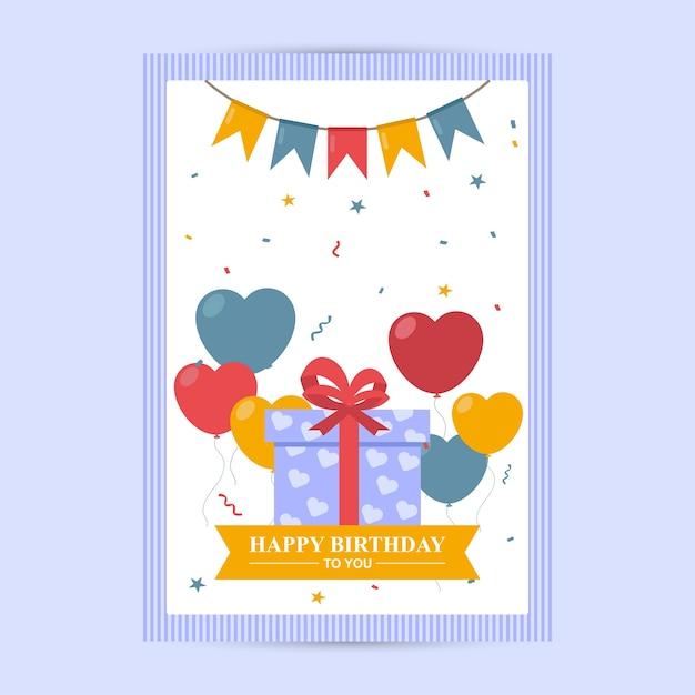 Happy Birthday Flyer Nevadlugopisyreklamowe