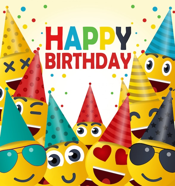 Happy Birthday Gift Card Vector Premium Download