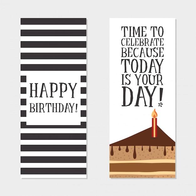 Happy birthday invitation cards vector free download happy birthday invitation cards free vector stopboris Choice Image