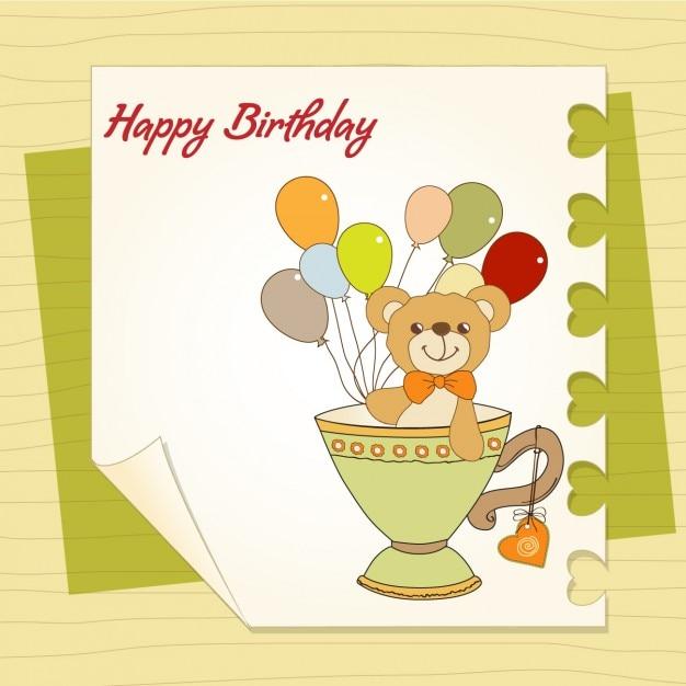 Happy Birthday Kids Vector Free Download