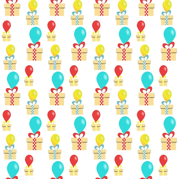 Happy Birthday Pattern Background
