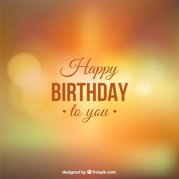 Happy Birthday Images Hombres ~ Happy birthday to you background vector free download