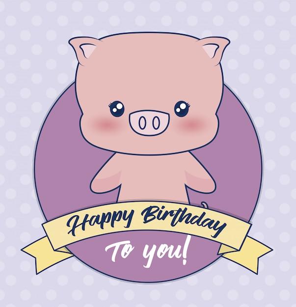 Happy birthday Free Vector