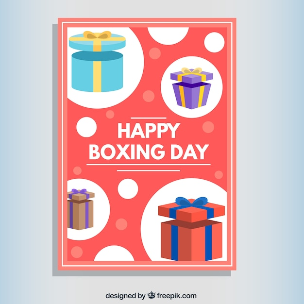 Happy Boxing Day Card