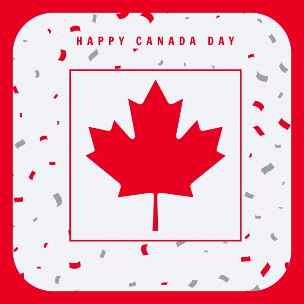 Happy canada day greeting card vector free download happy canada day greeting card free vector m4hsunfo