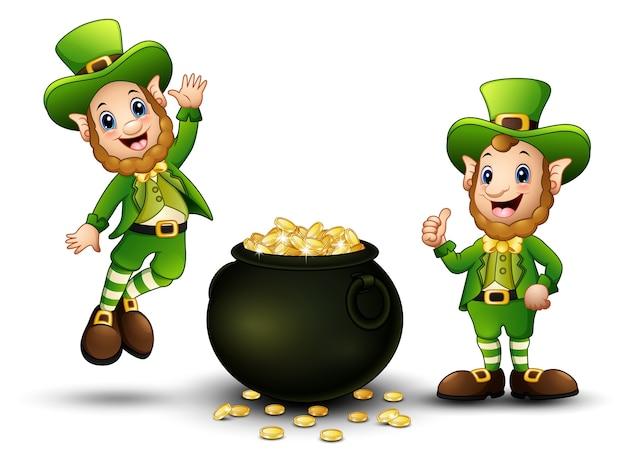 happy-cartoon-leprechauns-with-pot-of-go