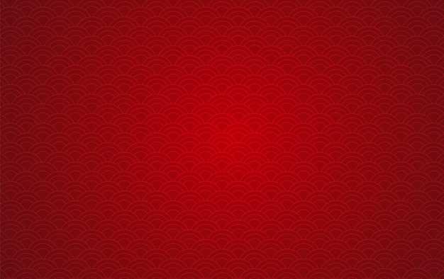 Happy chinese new year of the abstract pattern background Premium Vector