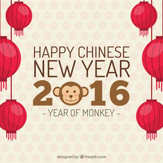 Happy chinese new year background Vector | Free Download