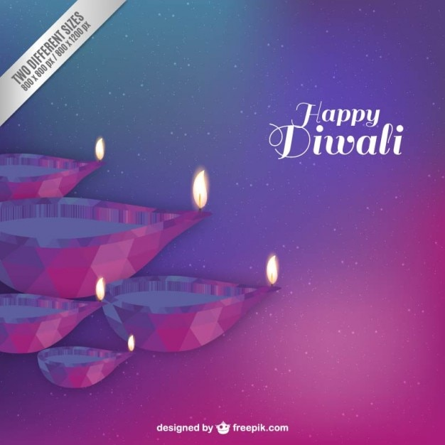 Happy Diwali Abstract Background Vector Free Download