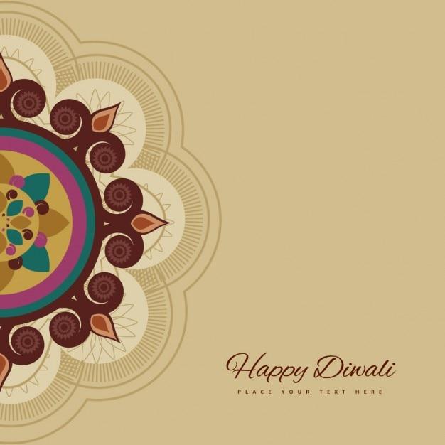 Happy Diwali Card Vector Free Download