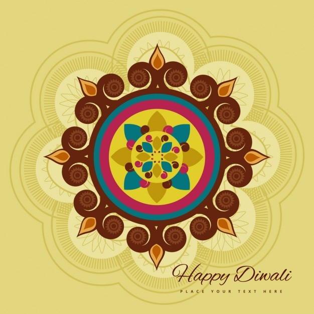 Happy diwali symbol