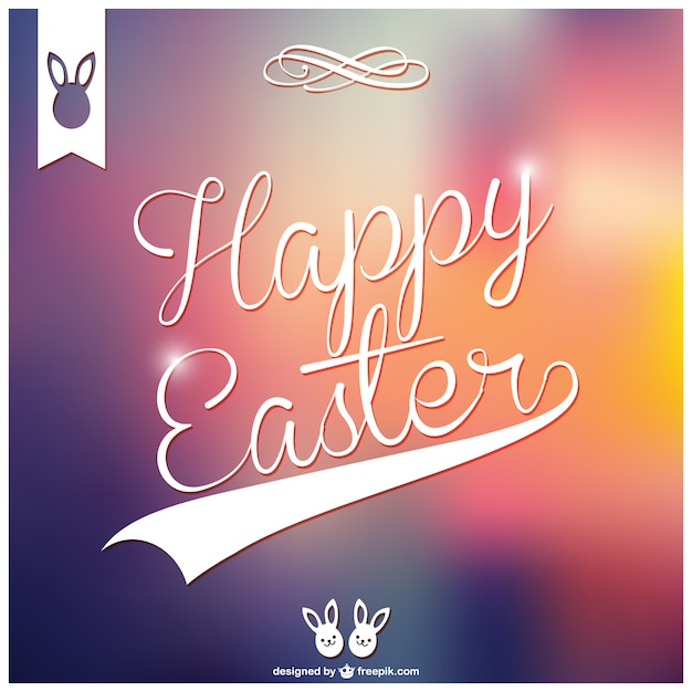 Happy easter card design vector free download happy easter card design free vector m4hsunfo