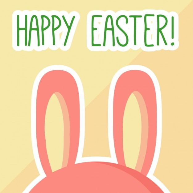 Happy easter card Vector – Happy Easter Card
