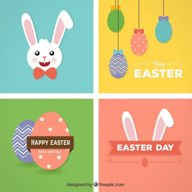 Happy easter cards vector free download happy easter cards free vector m4hsunfo