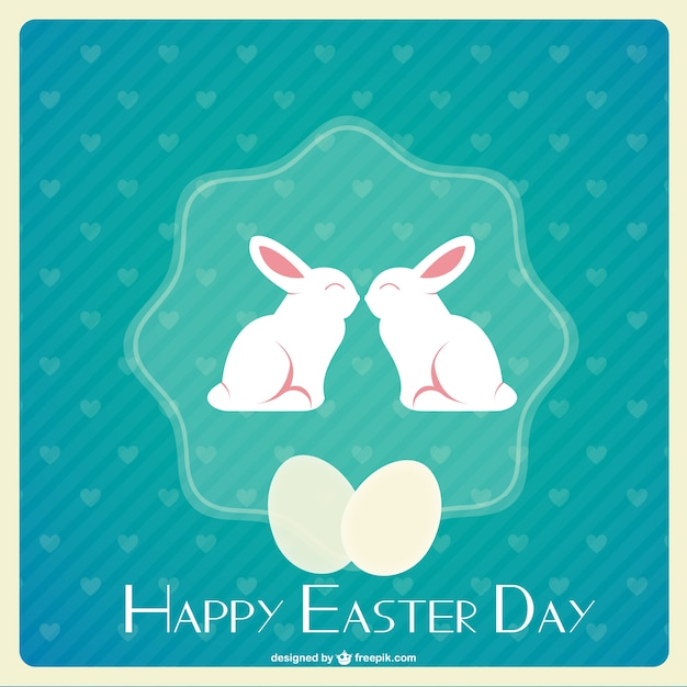 Happy easter day vector Vector | Free Download
