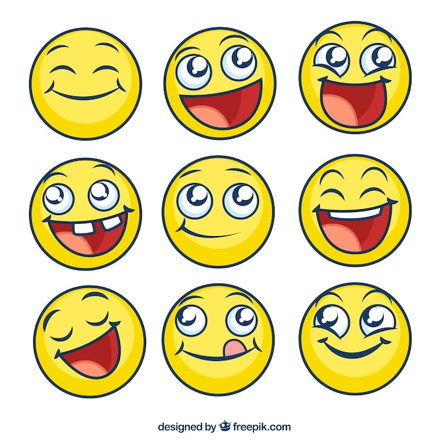 Emoticons Vectors, Photos and PSD files | Free Download