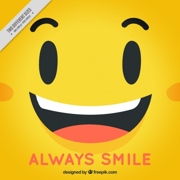 Happy face yellow background vector free download happy face yellow background free vector voltagebd Image collections