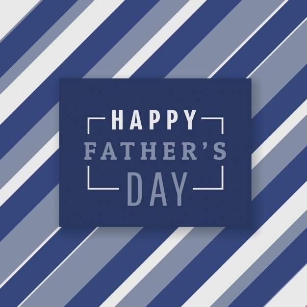 Happy father\'s day background with\ stripes