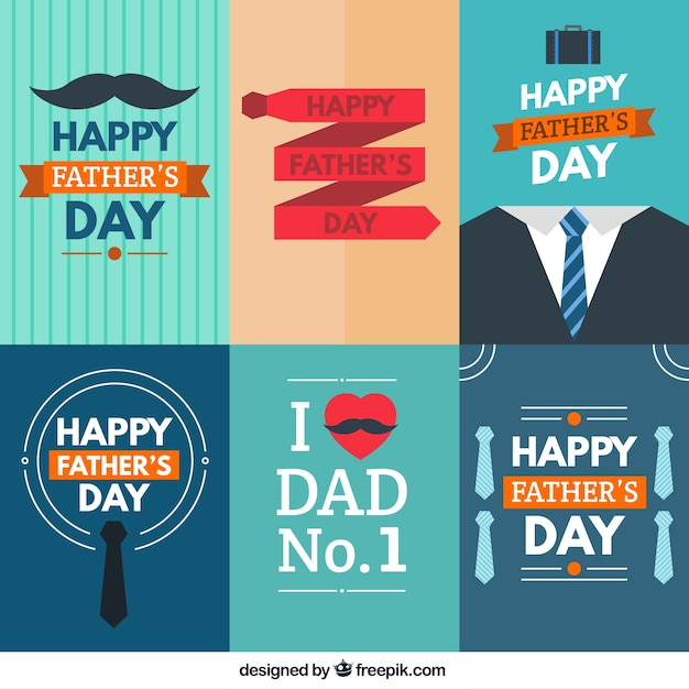 Happy fathers day cards collection