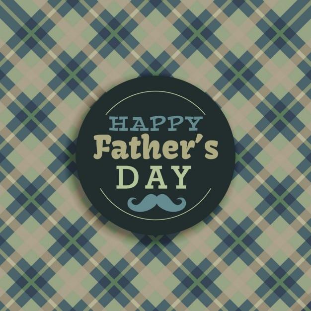 Happy fathers day retro background
